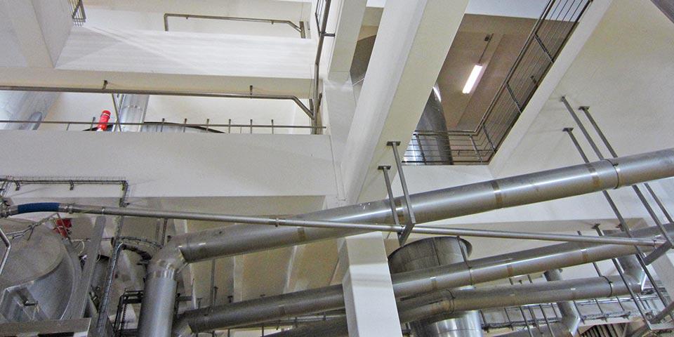 Betrieb zur Milchtrocknung