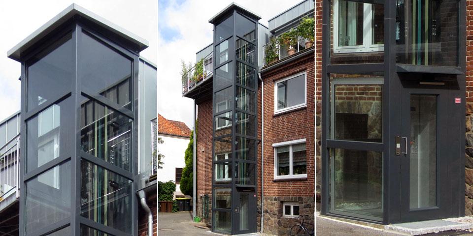 barrierefreie Gebäudeerschließung