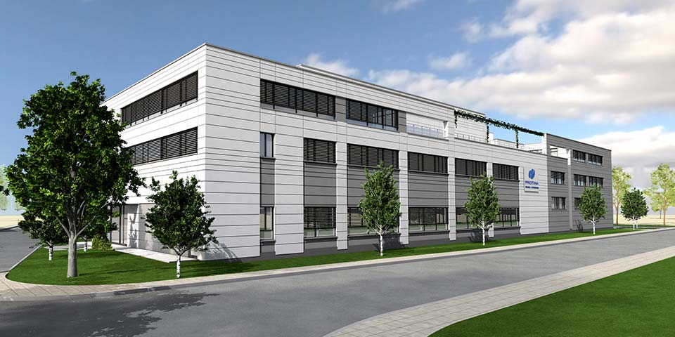 Pharmazeutisches Produktions- und Bürogebäude